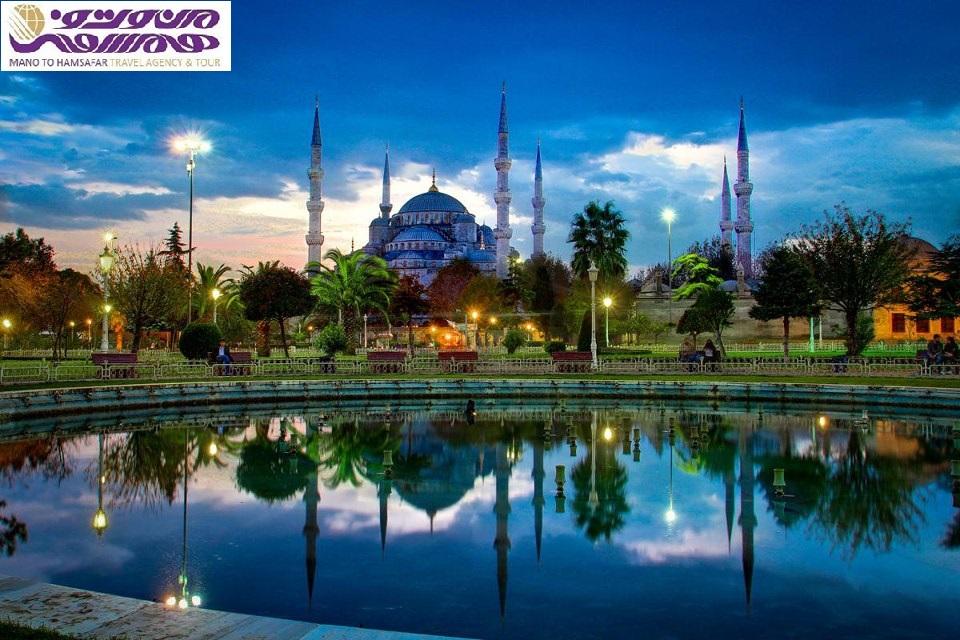 تور استانبول  16 تیر 95 ویژه عید فطر