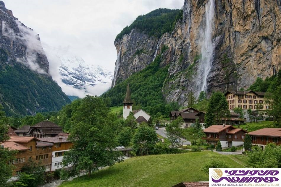 تور دور سوئیس 10 آذر ماه 1396