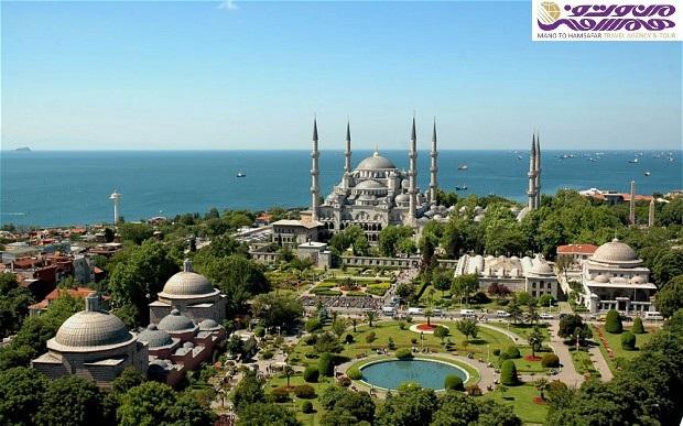 تور استانبول ویژه 8 آذر 95