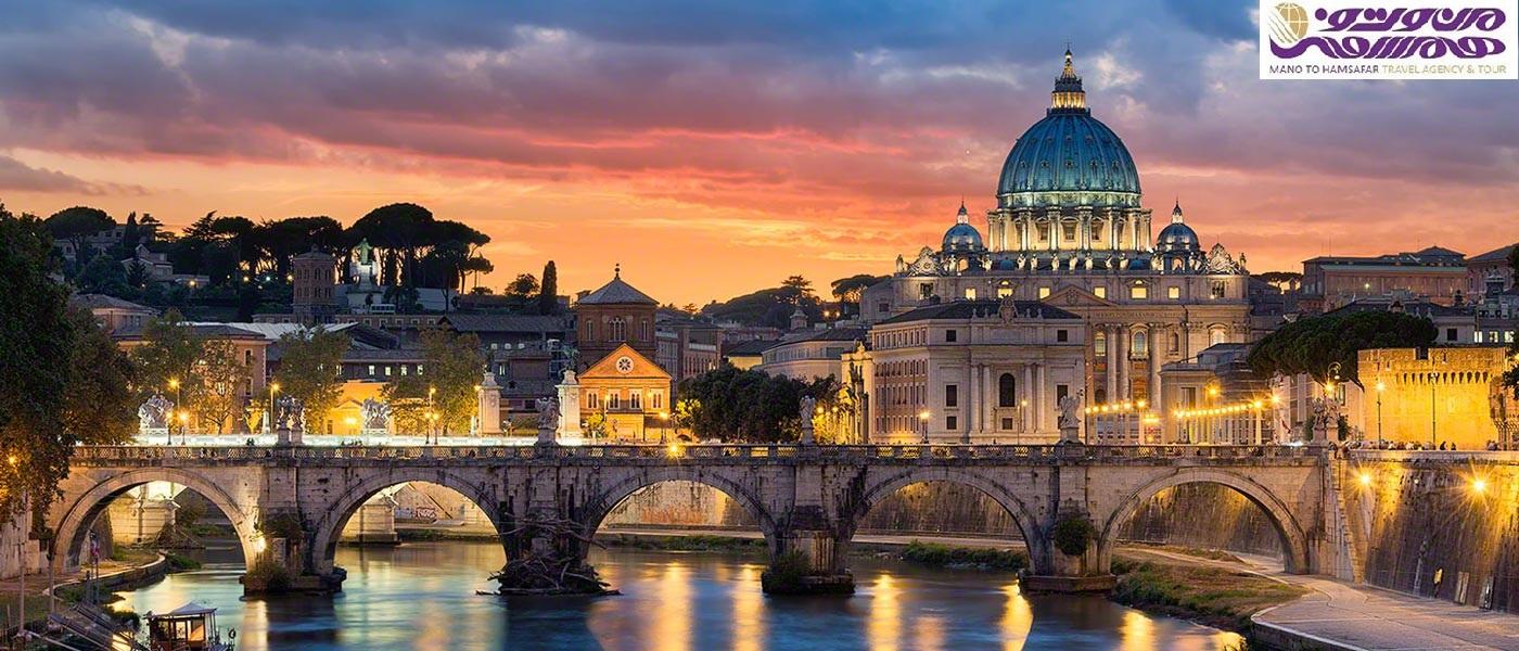 تور ایتالیا ویژه تابستان 1398