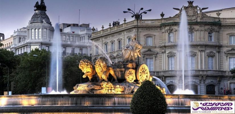 تور ایتالیا . اسپانیا تابستان 1397