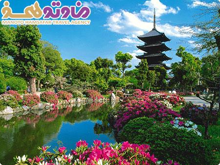 تور ژاپن(توکیو+هاکونه+تاکایاما+کیوتو+اوزاکا)با پرواز الاتحاد ویژه رفت آبان پاییز 92