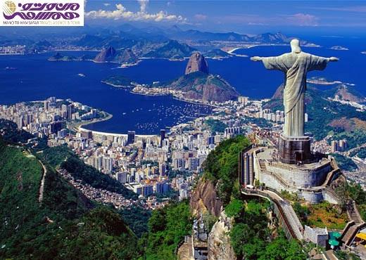 Brazilië Rio de Janeiro 520x370 تور نوروز 96