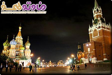 تور روسیه ( مسکو و سنت پترزبورگ ) با پرواز ایرفلوت ویژه تابستان 92