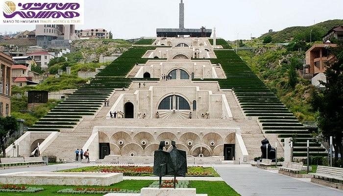 تور ارمنستان با پرواز ماهان 3 و 5 بهمن 95