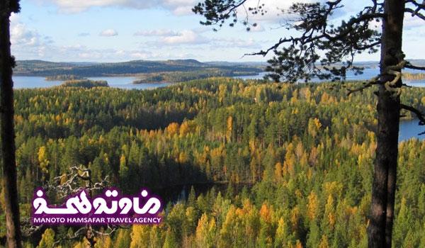 تور فنلاند، سوئد، نروژ، دانمارک تابستان 96