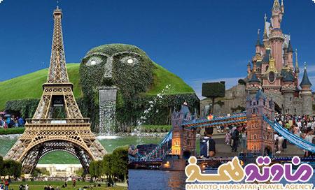 تور دور اروپا (پاریس،نیس،فلورانس،رم،ونیز،وین،پراگ،برلین،کپنهاگ،هامبورگ،آمستردام،پاریس)