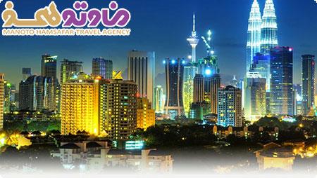 تور مالزی سنگاپور پنانگ با پرواز ماهان