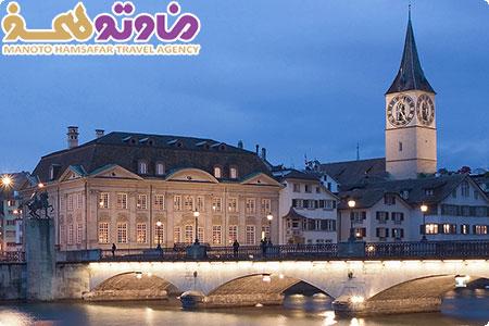 تور سوئیس . فرانسه ویژه تابستان 1397